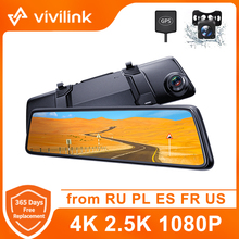 Car DVR Driving-Recorder Parking-Monitor Dash-Cam Voice-Control Rear-View-Camera Touch-Screen