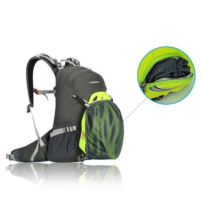 20l bicicleta mochila, moutain caminhadas escalada saco, bicicleta mochila com capa de chuva, impermeável ciclismo mochila sem saco de água 2