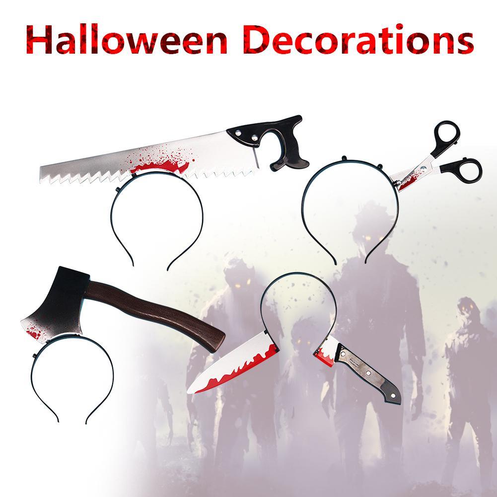 Halloween Horror Hair Bands Zombie Headbands Halloween Decorations For Party Cosplay Halloween Headbands Props