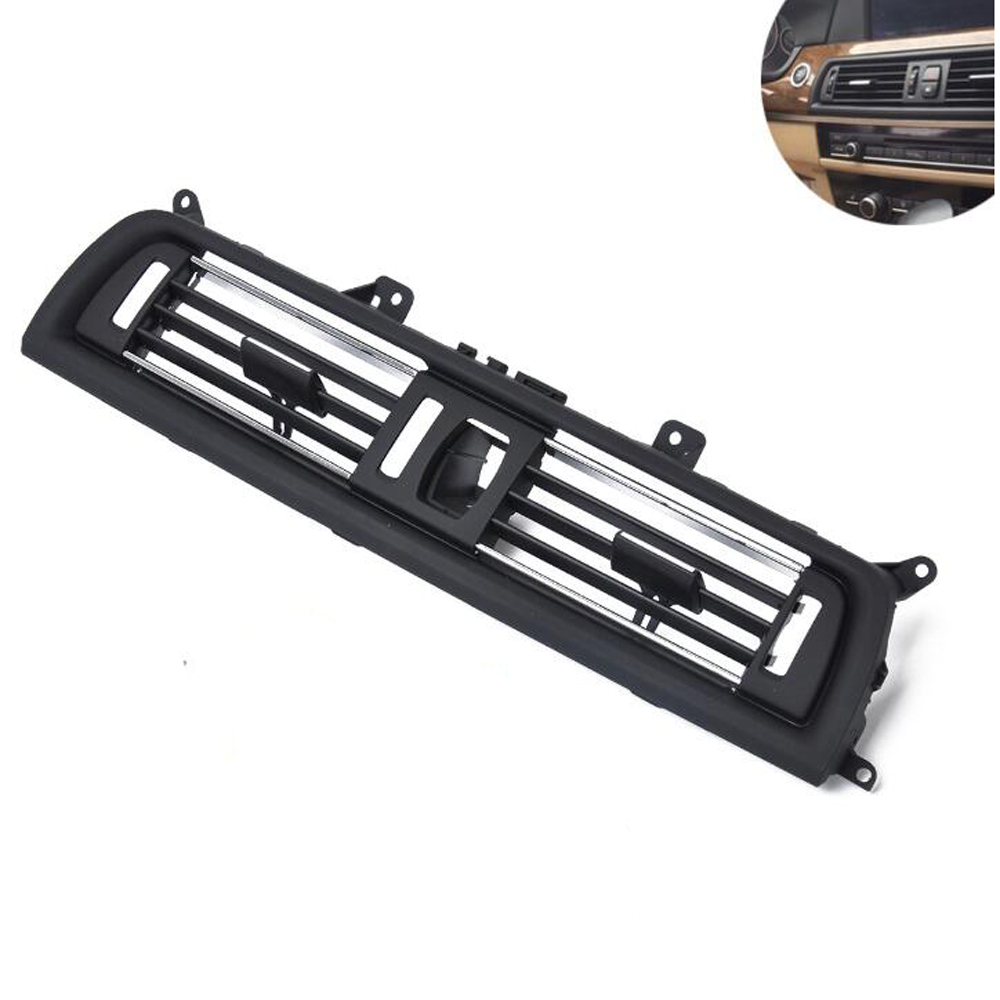 Front Air Conditioning Outlet Center Vent Assembly for BMW <font><b>F10</b></font> F18 520i <font><b>520d</b></font> 523i 535i 535d 530i 530d 2010-2016 image