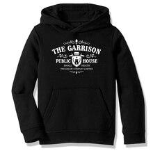 Fleece Hooded Sweatshirt Hoodies Peaky Blinders The Garrison Casual Clothing