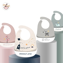 Silicone Baby Bibs Food Grade Waterproof Baby Feedings Table Ware Set Bib For New Silicone Bibs For Girls And Boys