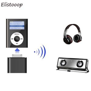 Image 4 - Bluetooth Transmitter Adapter Hifi Audio Dongle for iPod Classic Touch 30Pin Wireless Card Aux Receiver Adapter For Earphone