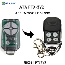 ATA PTX 5V2 433.92 MHz gate garage door remote control replacement rolling code