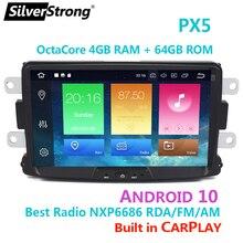 Android10, Carplay, 4G 64G, Auto Gps, Voor Renault, Stofdoek, Logan, lada Xray, Symbool, Dacia, Kaptur, Dokker, Radio Navi Multimedia