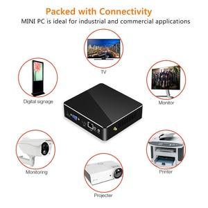 Image 5 - Mini PC Intel Core i7 7500U i5 i3 4K Windows 10 Linux HTPC Thin Client Desktop Minipc Micro Nuc HDMI DDR3L Computadora Computer