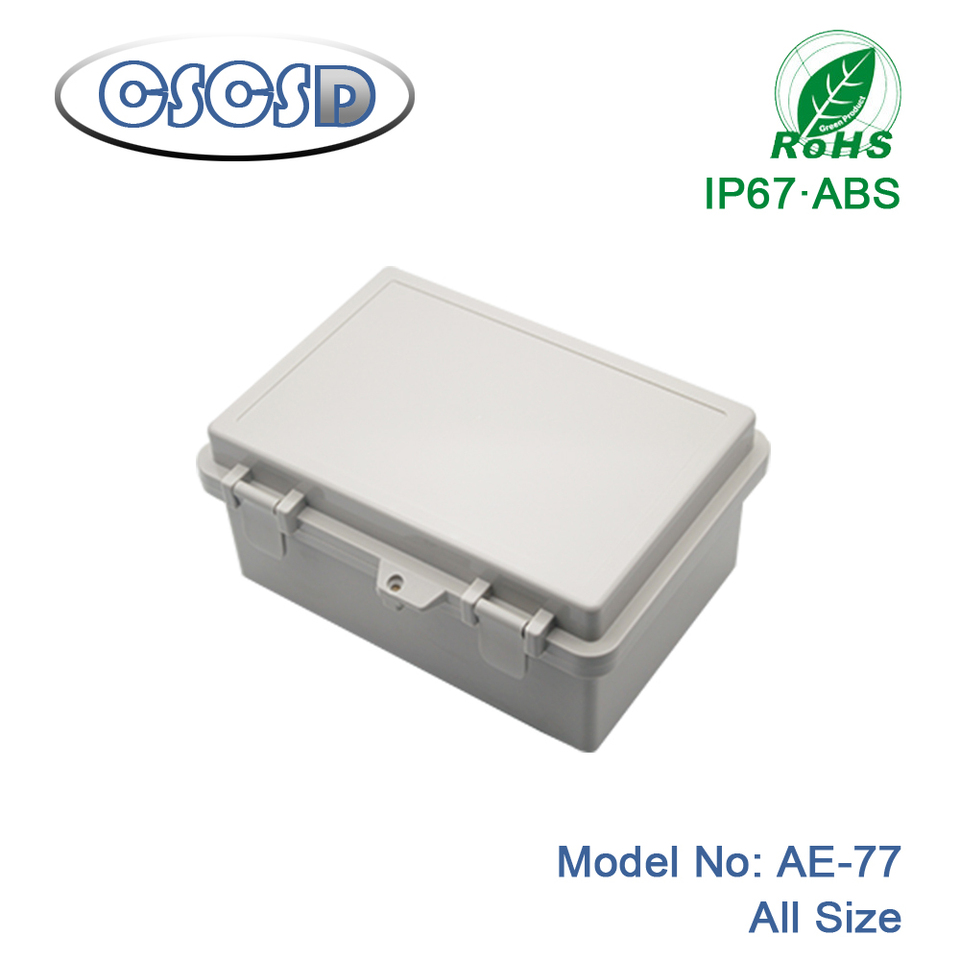 Waterproof ABS Junction Box Enclosure Case Outdoor Terminal Box Many Size IP65
