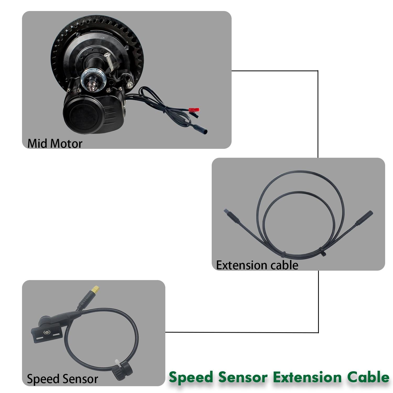 Speed Sensor Extension Cable For Tongsheng Tsdz2 Mid Drive Motor Electric Bike