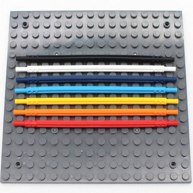 MOC Blocks Technic Parts 32201 Hose Soft Axle 14L Educational Toys Technic Bulk Building Blocks Mechanical Accessories