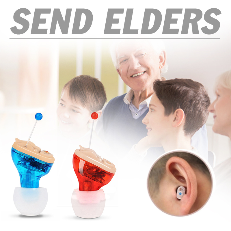 Mr Smallest CIC Ear AIDS Micro Mini Invisible Hearing AID Inner Ear Deaf Aid Low Noise Hearing Device Digital Tone Audifono 1
