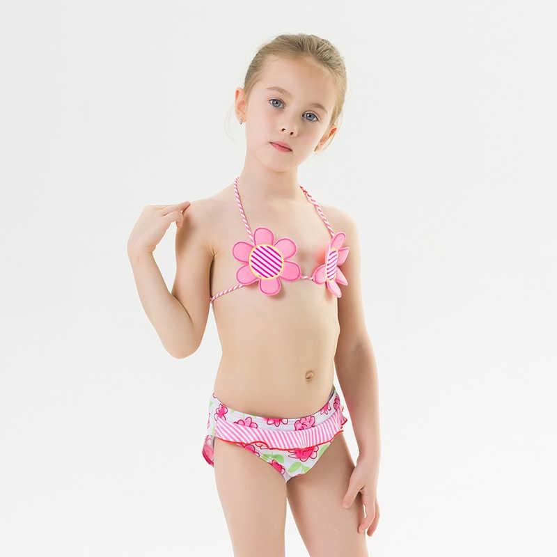 Flower Bikini For Kids Girls Swim Suit Beach Wear Bathing Suits Floral Two  Piece Swimming Suit Sweet Swimsuits Baby Bikinis Kid|Children's Two-Piece  Suits| - AliExpress