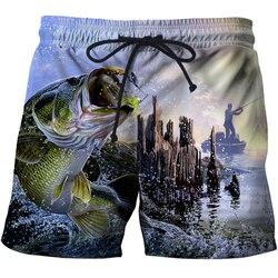 Мужские плавки, 3D принт, бикини, одежда для плавания, синяя рыба, мужские плавки, плавки для серфинга, Пляжные штаны, сексуальный купальный ко...