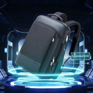 Image 2 - BOPAI 2020 Backpack Men Enlarge Anti Theft Business Bagpack for 15.6 Inch Laptop Black Back Pack School Backpacking