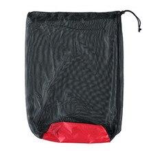 Storage-Bag Compression-Sleeping-Bag Waterproof Camping Sack Folding Sports Nylon Mesh