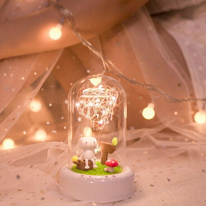 bluetooth alto falante natal decoracao da sua casa lampada 04