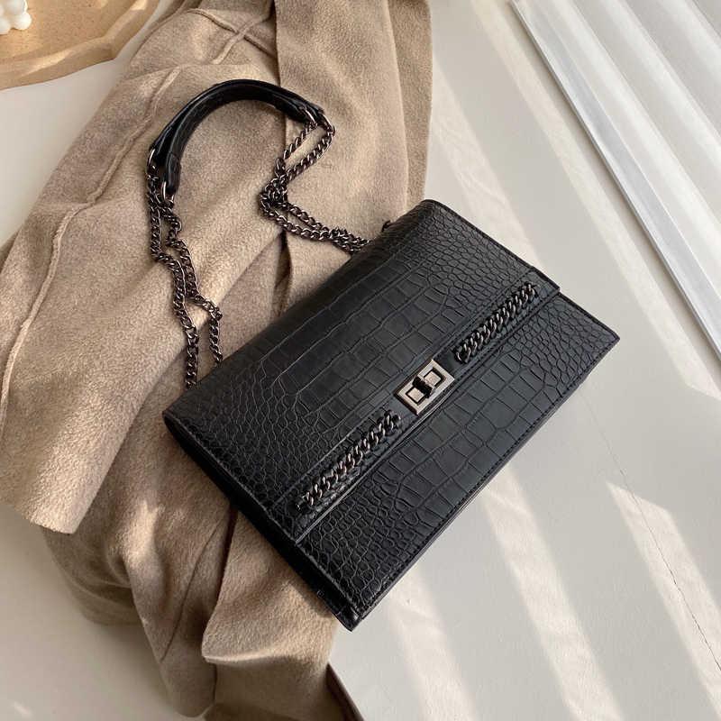 Стильная женская сумка 2020 Новая мода Корейская версия Джокер текстура через