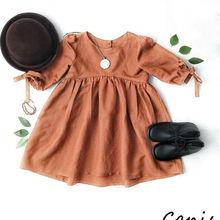Pudcoco Girl Dress 6M-4Y US Toddler Kids Baby Girls Half Sle
