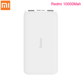 Original Xiaomi Redmi Power Bank 10000mAh USB Type C Portable Charging Powerbank 10000 External Battery Poverbank For Smart Home image