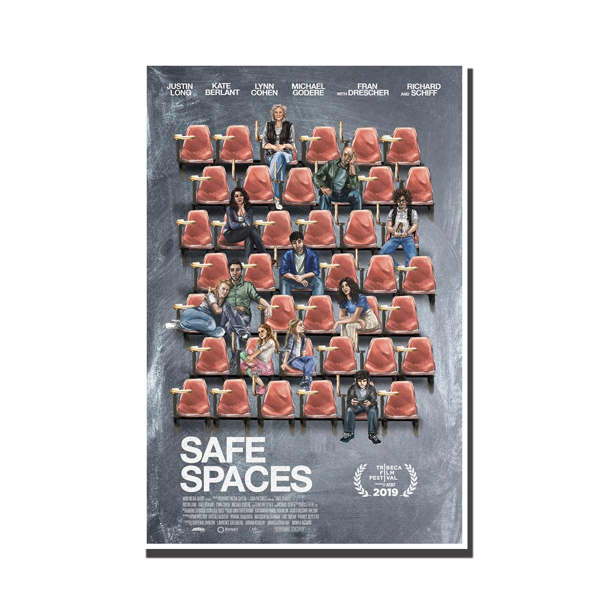 C246 Safe Spaces Movie 2019 Art Silk Poster Pictures Decoration 24x32 24x36 12x18 27x40Print Canvas Custom Gift image
