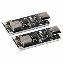 Высоковольтный литиевый полимерный аккумулятор Тип C с USB-входом, 3 А, плата для быстрой зарядки IP2312 CC/CV, режим от 5 в до 4,2 в, 4,35 в