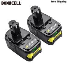Bonacell 6000 リチウムイオン二次電池リョービ P108 BPL-1815 BPL-1820G BPL18151 BPL1820 P102 P103 P104 P105 P106 P107 L5