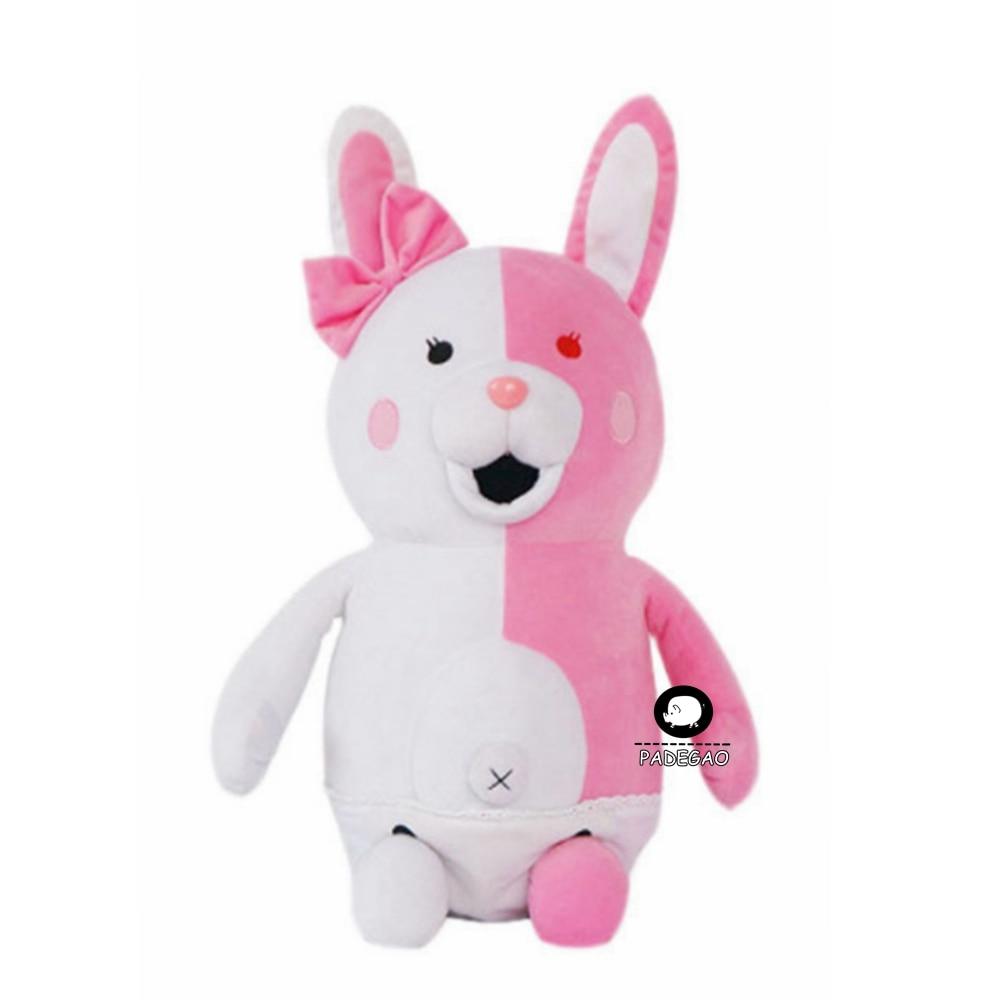 Danganronpa Dangan Ronpa 2 Monomi  Pink White Full Set Cosplay Costume