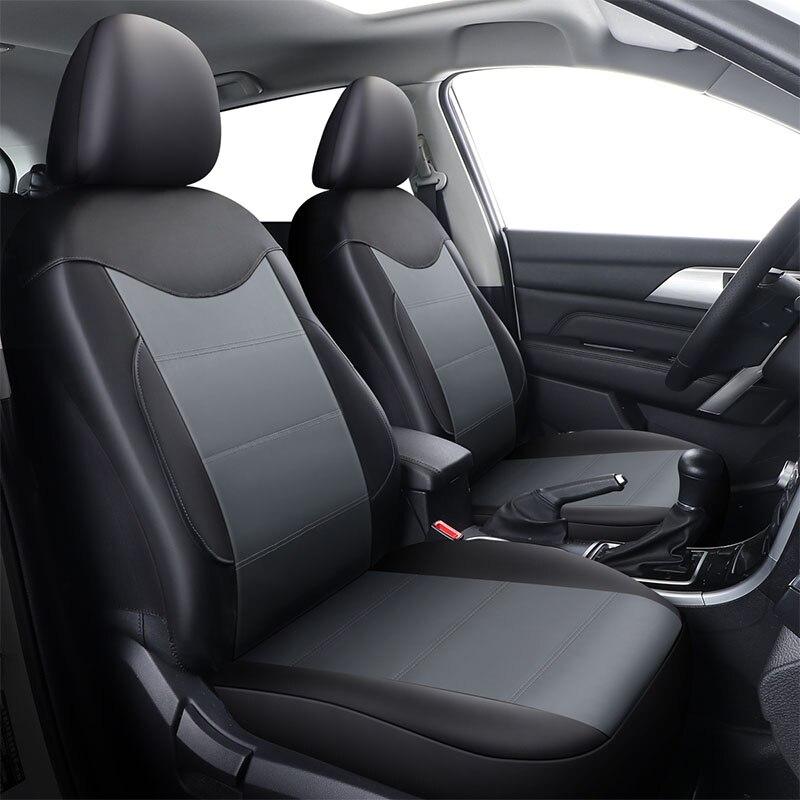 Housse de siège de voiture en cuir Pu Supports de siège de véhicule pour Mitsubishi Asx 2017 Carisma Eclipse Cross Galant L200 Lancer 9 10 Ex Ix X - 3