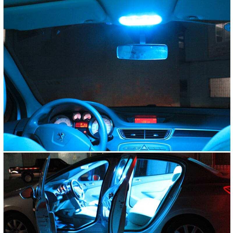 JGAUT 1PCS CANBUS Blanco cálido Amarillo 31MM 36MM 39MM 41MM 12V - Luces del coche - foto 6