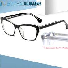 Ivsta женские модные очки по рецепту при близорукости оптическая