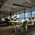 Puluoti современная простота полосы лампа светодиодный подвесной светильник в офис
