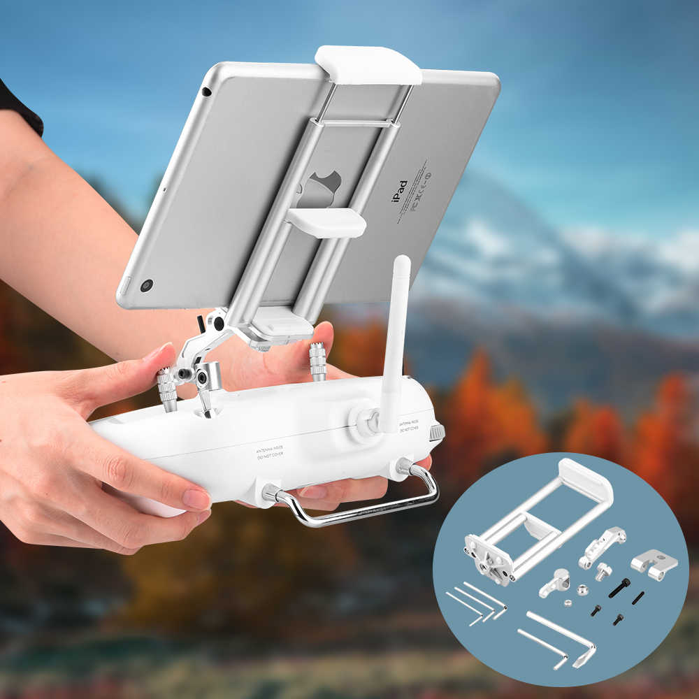 Tablet Holder Bracket For Dji Phantom 3 Standard Se 3a 3p Stand Remote Controller Monitor Extender Mount For Ipad Mini Iphone Drone Accessories Kits Aliexpress