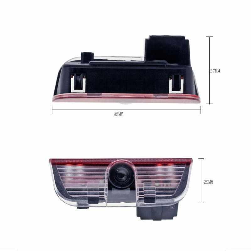 2 pièces LED 3D voiture porte bienvenue lumière Logo laser fantôme projecteur lampe pour VW Passat B6 B7 CC Golf 6 7 Jetta MK5 MK6 Tiguan Scirocco