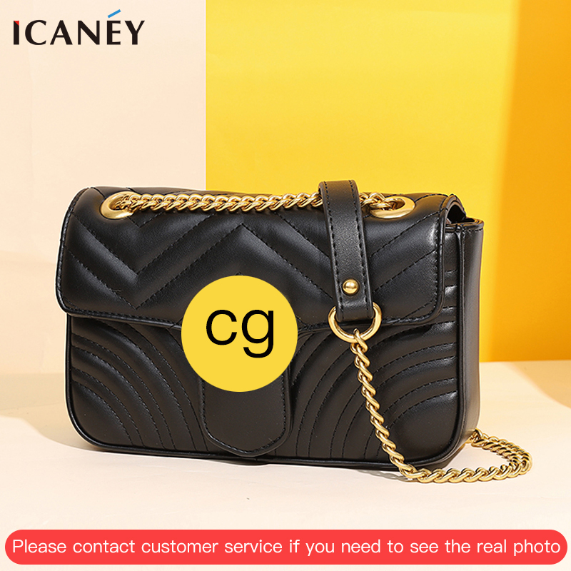 Shoulder Bag Female CG Small Crossbody Bag For Female Messenger Bag 2020 Bolsa Luxury Handbags Women Bags Designer Purses