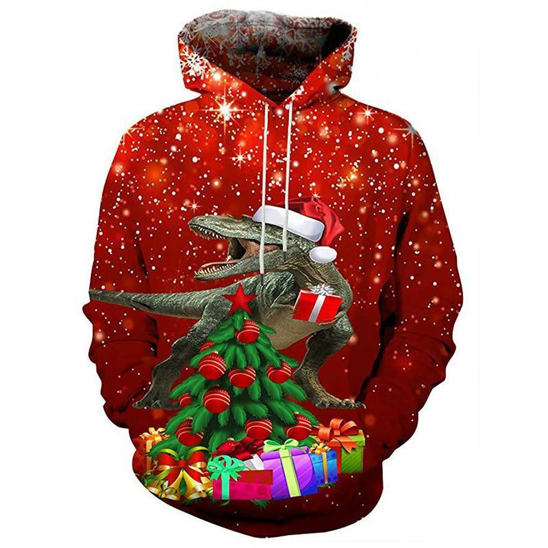Santa is gay christmas hooded sweatshirts