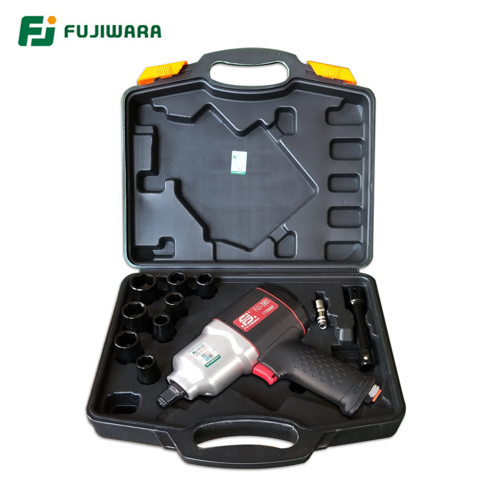 FUJIWARA Air Pneumatic Wrench 900N.M Industrial Grade High Torque Impact Power Tools