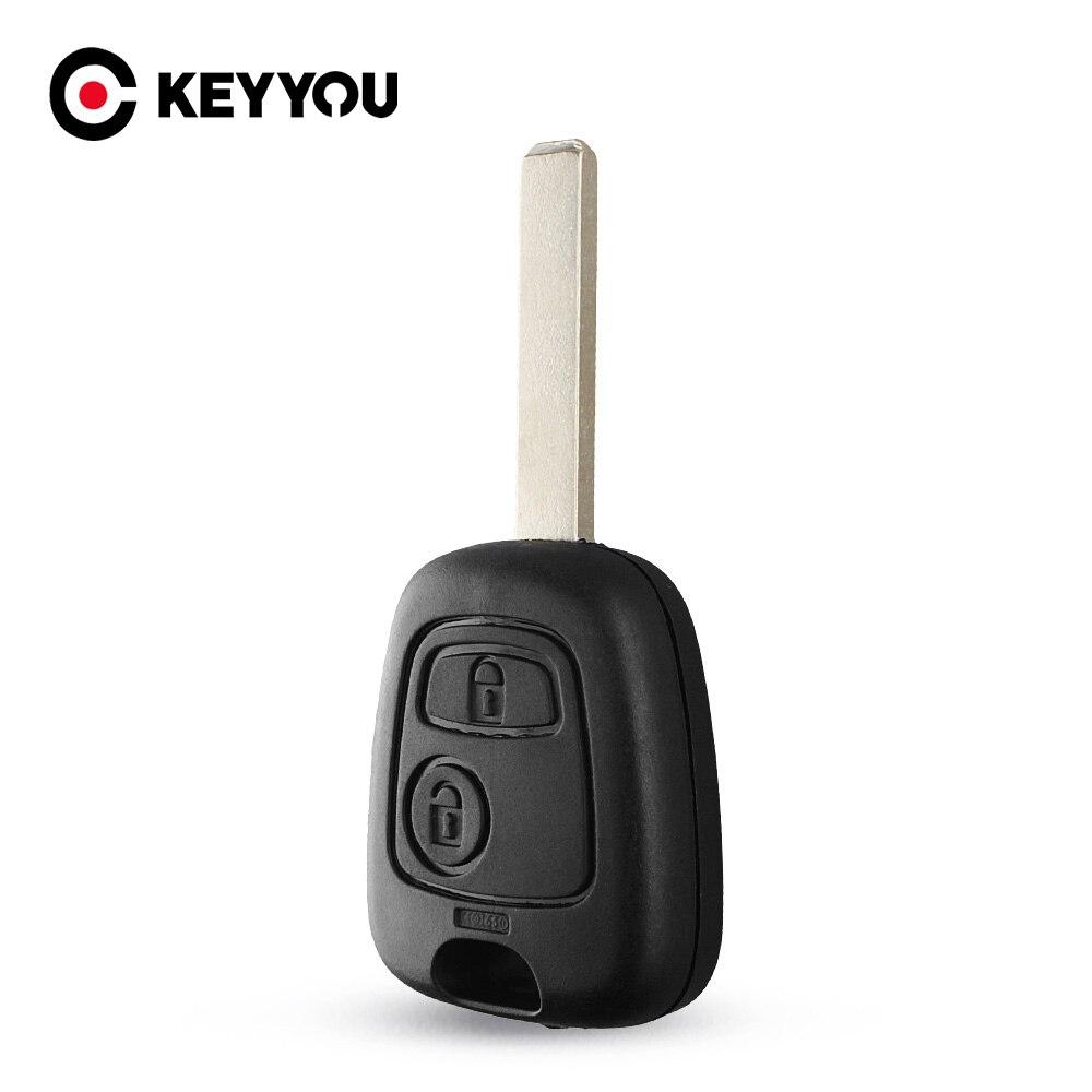 Чехол для автомобильного ключа KEYYOU для Citroen C1 C2 C3 C4 XSARA Picasso HU83/ VA2/No Blade