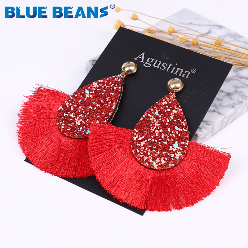 tassel pink bracelet pink earrings dangle earrings pink tassel earrings jewelry set Tassel bracelet Beaded bracelet Tassel earrings