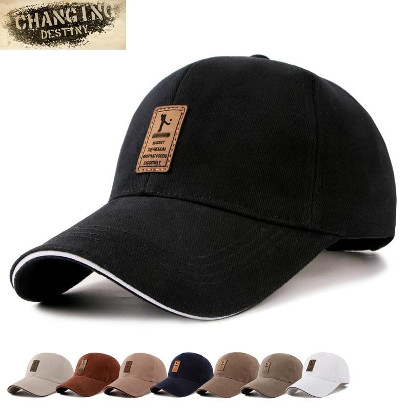 Men Baseball Cap Cotton Visors Caps  Napback Male Glof Hat  Basketball Caps Hats for Men and Women Letter Cap skull necklace raven skull