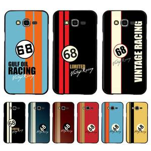 Yinuoda Vintage Racing 68 Phone Case for Samsung A50 A70 A40 A6 A8 Plus A7 A20 A30 S7 S8 S9 S10 S20 Plus