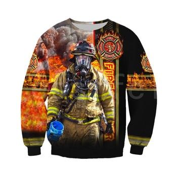 Tessffel Firefighters Suit Firemen superhero Harajuku Tracksuit NewFashion 3DPrint Zipper/Hoodies/Sweatshirt/Jacket/Men/Women s3 2