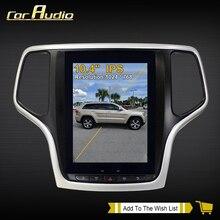 10,4 pulgadas Android 9 Tesla con DSP Carplay reproductor Multimedia para auto Jeep Grand Cherokee 2010-2019 navegación GPS PX6 32 + 4G