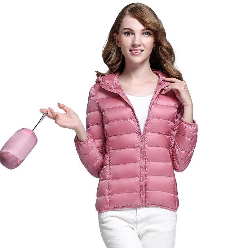 SZMALL Fashion Newest Women Hooded Jacket Winter Autumn warm female slim Long Sleeve Casual top Coat Lady Pop Outwear Clothes