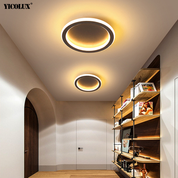 Round Square Creative Modern LED Ceiling Lights For Dining Living Room Bedroom Corridor Aisle Balcony Salon Hall Lighting Lamps wilma geometric ceiling lamps lighting triangle art corridor balcony restaurant led simple bedroom lamp