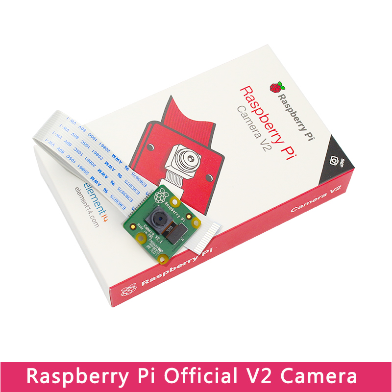 Original Official Raspberry Pi 4 Camera V2 IMX219 8MP Camera For Raspberry Pi Model 4B/3B+/3B Compatible Nvidia Jetson Nano