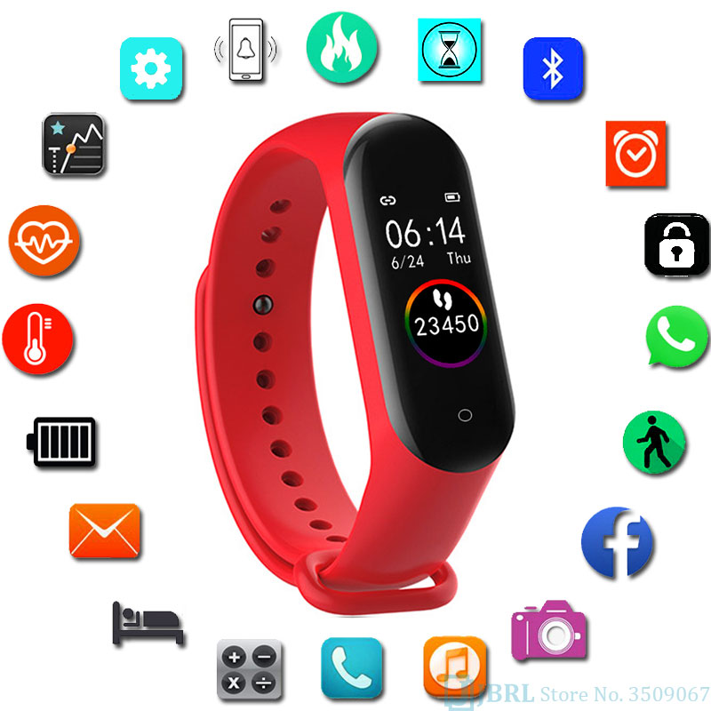 Fashion Waterproof Digital Watch Women Bluetooth Heart Rate Watches Ladies Electronic Watches For Android IOS Relogio Inteligent
