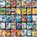 Neue Pokemon Karte Mit 60 VMAX Spiel Schlacht Carte Trading Englisch Version 200 GX Tag Team 30 EX MEGA 20 ENERGIE Glänzende Karten