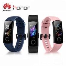 Original Huawei Honor Band 5 sang oxygène Amoled écran tactile détecter nager Posture fréquence cardiaque sommeil Snap Bracelet intelligent