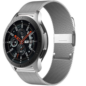 Milanese strap For Samsung Galaxy watch 3 45mm 41mm/Active 2/46mm/42mm Gear S3 Frontier 20mm 22mm bracelet Huawei GT/2/2e band