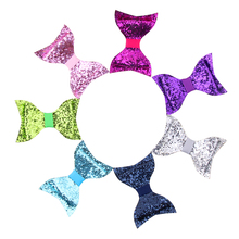 цена на Colle Kids Hairpin Hair Clip Sequin Hair Bow Glitter Hair Clips For Girl Party Princess
