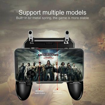 Pubg Mobile Trigger Free Fire Game Joystick for Cell Phone Gamepad Android Smartphone L1 R1 Control Cellular Pabg Cellphone Pupg game pad console control l1 r1 joystick for android iphone cell phone gamepad pubg controller to mobile trigger joypad cellphone